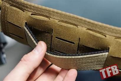 Belt Threat Concealment Crux Shot Stiffener Easier