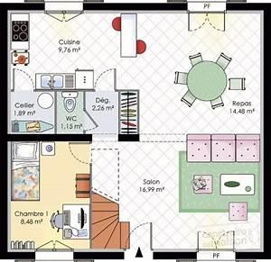 maison urbaine detail du plan de maison urbaine faire With plan de petite maison