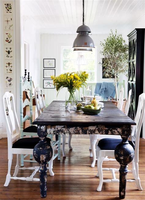15 ideas for dining room interior design in rustic chic