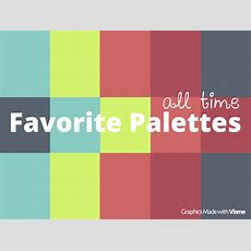 All Time Favorite Color Palettes To Improve Design