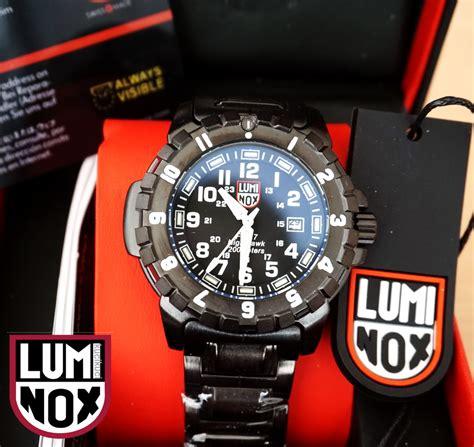 Harga Jam Tangan Luminox F 117 luminox 6402 bo f 117 nighthawk blackout black white