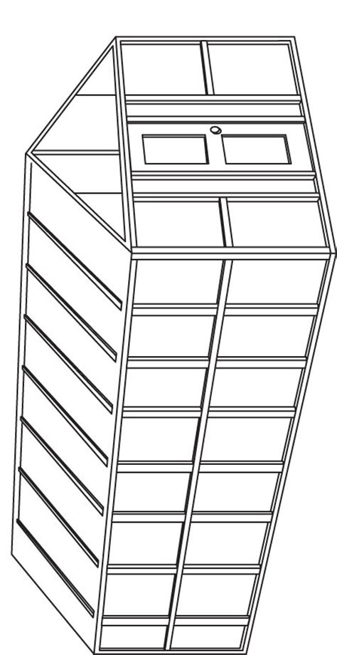 green house coloring page   green house