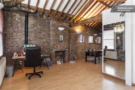 bureau loft appartement esprit loft coin bureau avec cheminée