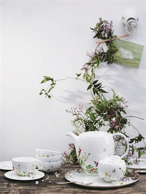Rosenthal Fleurs Sauvages by Becher Mit Henkel Brillance Fleurs Sauvages Rosenthal