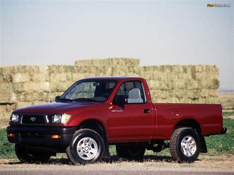 Toyota Tacoma 1995 by Toyota Tacoma Regular Cab 1995 98 Images 1024x768