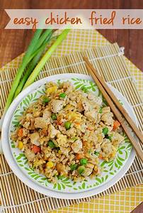Easy Chicken Fried Rice Recipe Green, Cookbook recipes