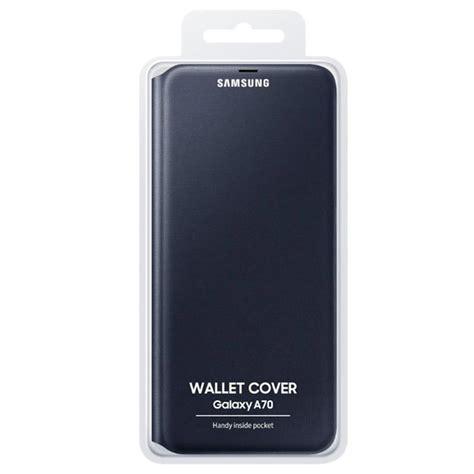 Samsung Galaxy A70 Wallet Cover EF-WA705PBEGWW