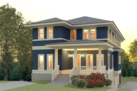 contemporary style house plan  beds  baths  sq