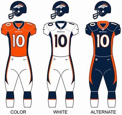 Broncos Uniforms Denver Wikipedia Season Jersey Orange