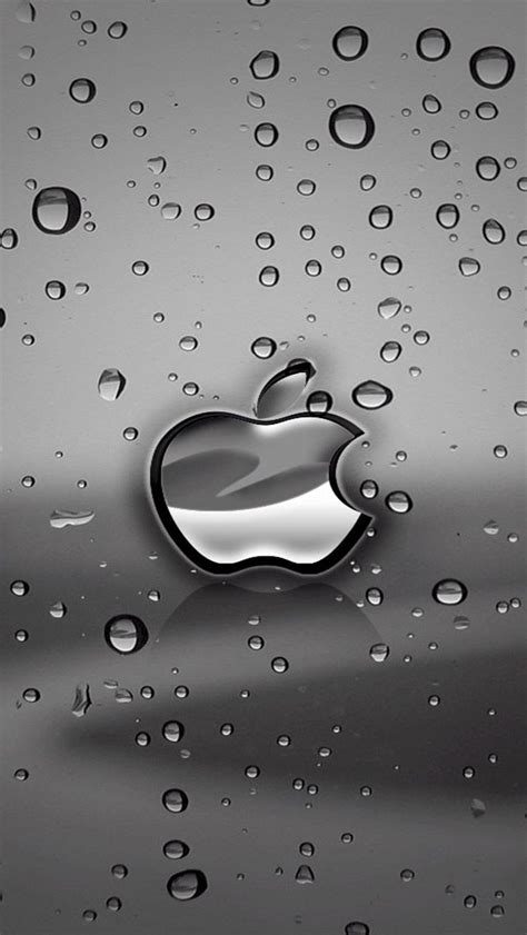 Apple Iphone Free Wallpaper Iphone by Free Apple Logo Iphone 5 Hd Wallpapers Watery