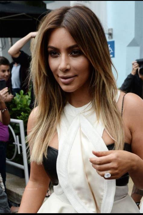 Kim Kardashian hair | Hair | Long hair styles, Kim ...