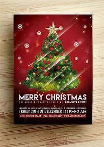 25 best free christmas flyer templates dzineflip for Christmas flyer template free download