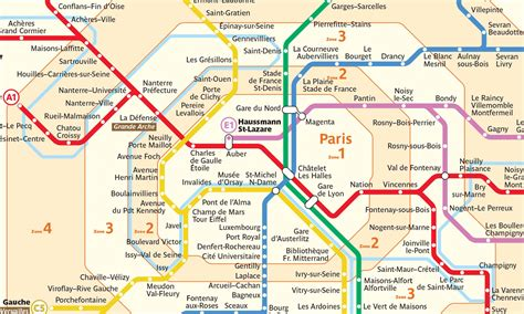 Carte Metro Rer by How To Use The Rer Guide To Backpacking Through