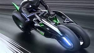 "Kawasaki ""J"" Concept  electric motorcycle  2013 Tokyo Motor Show"