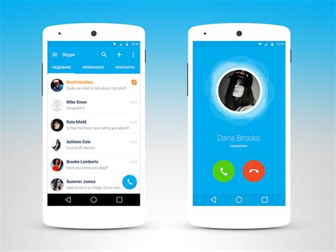 skype android skype android material by dmitriy kharaberyush dribbble