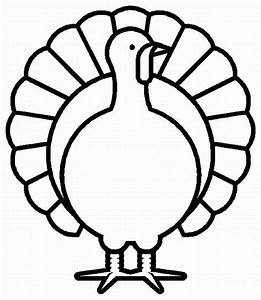 Happy Thanksgiving Turkey Coloring Pages | Clipart Panda ...