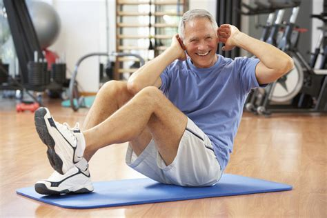 image gallery old man exercising