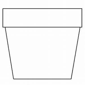 Flower Pot Clip Art Black And White - ClipArt Best