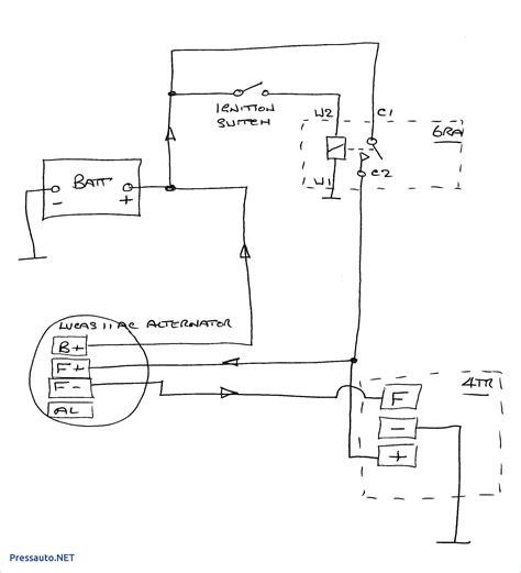ac delco 4 wire alternator wiring diagram free wiring diagram