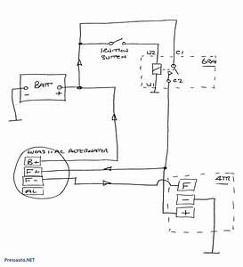 Ac Delco 4 Wire Alternator Wiring Diagram