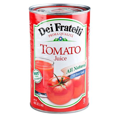 juice tomato canned oz 46 case juices cans bar webstaurantstore cocktail main