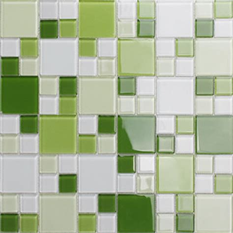 Green Glass Mosaic Window Countertop Crystal Glass Tile