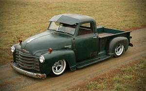 1952 Chevy 3100 Truck Rat Rod Hot Rod Patina Slammed Custom Lowered For Sale Photos