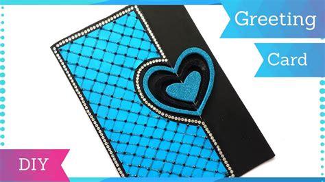diy heart greeting card design  birthday handmade
