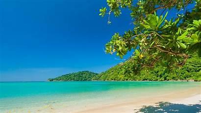 Beach Tropical Sea Sky Landscape Nature Island
