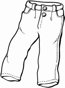 Jeans Clipart Black And White#3640362