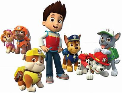 Paw Patrol Transparent Characters Birthday Dog Clipart
