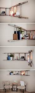 Diy, Corner, Ladder, Bookshelf, This, Easy, And, Clever
