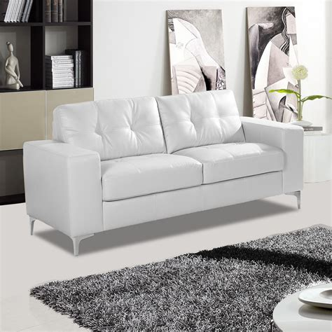 white couches for how to clean your white leather sofa to keep it bright as
