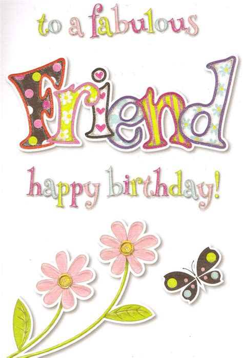 Check spelling or type a new query. special good friend birthday card cute traditional female - choose from 17 …   Birthday cards ...