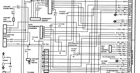 Buick Lesabre Wiring Schematic
