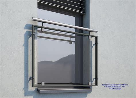 franzoesischer balkon glas mdap pulverbeschichtet