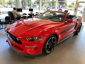 2020 Ford Mustang GT Premium Convertible RWD for Sale in Vancouver, BC - CarGurus