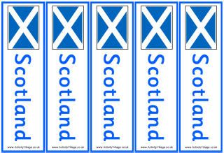 st andrews day printables