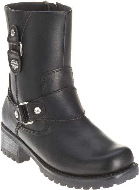 women s lightweight motorcycle boots harley davidson women 39 s alivia black leather 7 inch