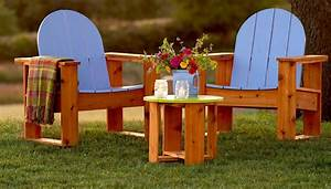 How to Build Adirondack Chairs: Easy DIY Plans