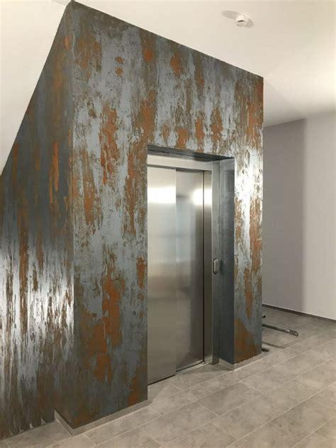 Moderne Häuser Technik by Rostspachteltechnik Volimea Rostwand In 2019
