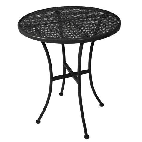 outdoor tisch rund outdoor tisch krista 140 rund aus stahl schwarz 60x60x71cm m 246 bel