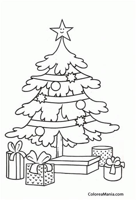 colorear rbol de navidad 9 navidad dibujo para colorear