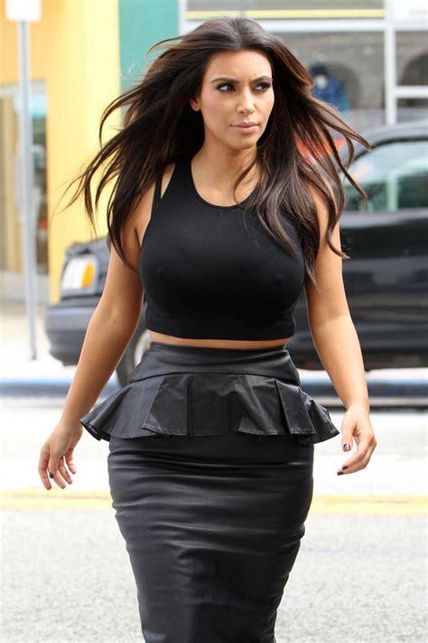 kim kardashian crop top kim kardashian  stylebistro