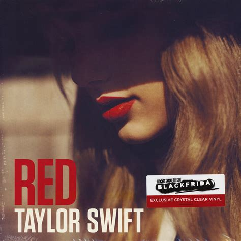 Taylor Swift - Red Crystal Clear Vinyl Edition - Vinyl 2LP ...