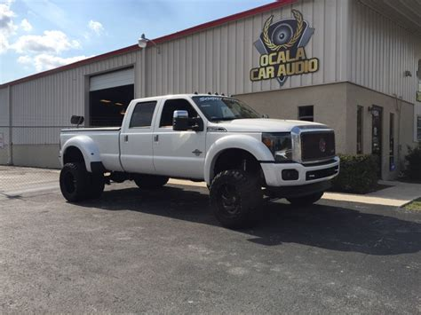 Ocala Client Gets 2015 Ford F-350 Bass Upgrade And Door Panels