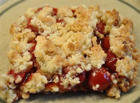 cherry  blueberry crumb dessert cherries  ojays