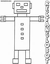 Rectangle Coloring Pages Colorings sketch template