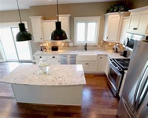 Fresh, L, Shaped, Kitchen, Layout, Ideas, With, Island, Gl