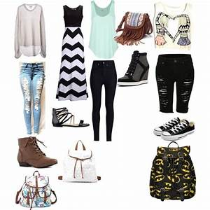 Summer Outfits 2018 School | traveltourswall.com